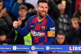 Lionel Messi y su espectacular triplete en la victoria parcial del Barcelona [VIDEO]