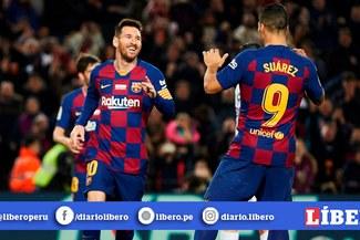 Con hat-trick de Messi, Barcelona aplastó 5-2 a Mallorca y comparte la punta con el Madrid [RESUMEN Y GOLES]