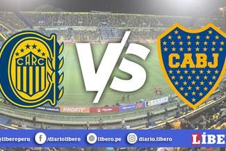 Boca Juniors vs Rosario Central [EN VIVO]: Horarios y canales para ver el partido de la Superliga Argentina