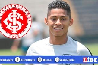 Medio brasileño elogia a Kevin Quevedo y resalta que sería un buen fichaje para Inter de Porto Alegre [FOTO]