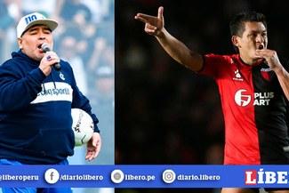 Diego Maradona quiere llevar a Luis 'Pulga' Rodríguez a Gimnasia La Plata [VIDEO]