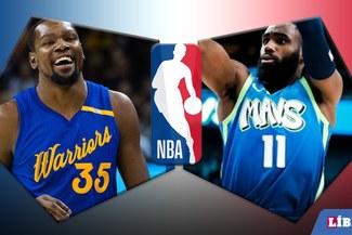 Mavericks venció por 141-121 a Warrios en la NBA