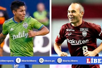 No se pudo: Andrés Iniesta no aceptó oferta del Seattle Sounders de Raul Ruidíaz