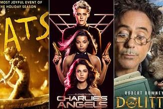 'Cats', 'Ángeles de Charlie' y 'Dolittle': Conoce los horarios y próximos estrenos de películas en la Cartelera de [HOY]