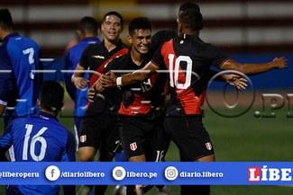 Perú Sub-23 derrotó 2-0 a El Salvador en amistoso previo al Preolímpico [RESUMEN]