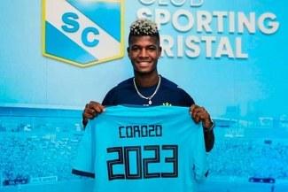 Washington Corozo se convirtió en el primer refuerzo extranjero de Sporting Cristal