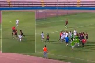 Amistoso Perú vs El Salvador Sub-23 acabó en conato de bronca por agresión a Marcos López [VIDEO]