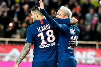 PSG goleó 4-1 a Mónaco y sigue como único líder de la Ligue 1 [RESUMEN]