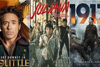 'Jojo Rabbit, 'Juliana' y '1917': Conoce los horarios y próximos estrenos de películas en la Cartelera de [HOY]