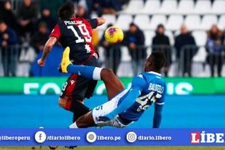 Mario Balotelli fue expulsado tras jugar 8 minutos, por una brutal patada por la Serie A [VIDEO]
