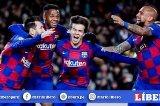 Con golazo de Messi: Barcelona venció 1-0 al Granada y sigue de líder junto al Real Madrid [RESUMEN Y GOL]