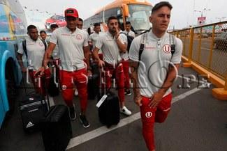 Universitario partió a Venezuela para su duelo contra Carabobo FC [FOTOS]