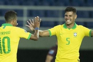 Uruguay no pudo con Brasil y perdió en la segunda fecha del Preolímpico