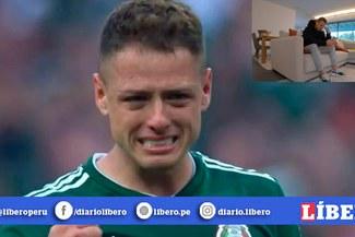 """Chicharito rompe en llanto tras firmar por Los Angeles Galaxy: """"Nos retiramos del sueño europeo"""" [VÍDEO]"""