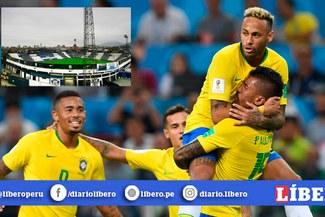 Alianza confirma que Brasil entrenará en Matute para el duelo ante Perú por Eliminatorias