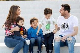 Lionel Messi y el detrás de cámara con su familia [VIDEO]