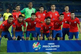 Argentina ganó 2-0 a Chile y es líder del grupo A del Preolímpico 2020