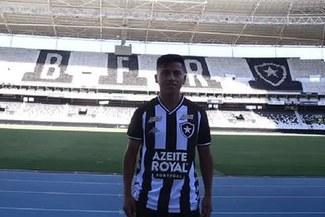 Alexander Lecaros podría debutar oficialmente con Botafogo este domingo