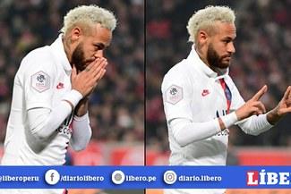 Neymar le dedicó gol con el PSG a Kobe Bryant, luego de enterarse de su fallecimiento [VIDEO]