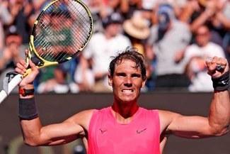 Nadal venció 3-1 a Kyrgios en partidazo y accedió a cuartos de final del Australian Open