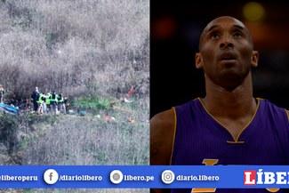 Kobe Bryant: autoridades recuperaron tres cuerpos tras accidente de helicóptero [VIDEO]
