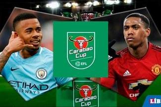 Manchester City vs Manchester United EN VIVO por el pase a la gran final de la Carabao Cup