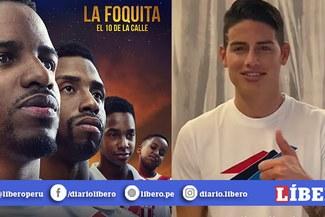 James Rodríguez sorprende al promocionar película de Jefferson Farfán [VIDEO]