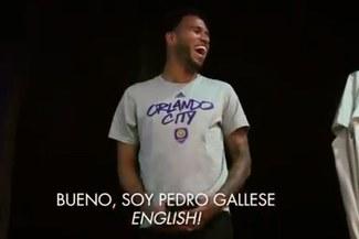 Pedro Gallese fue obligado a hablar en inglés en concentración de Orlando City [VIDEO]