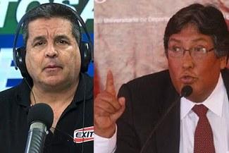 """Raúl Leguía y su acalorada respuesta a Gonzalo Núñez: """"Usted es Gremco Lover"""" [VIDEO]"""