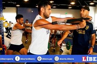Carlos Zambrano estará en el banco de suplentes para el partido entre Boca Juniors y Godoy Cruz