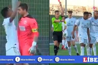 Rodrygo se pierde el Clásico Real Madrid vs Barcelona por expulsión en el Castilla [VIDEO]