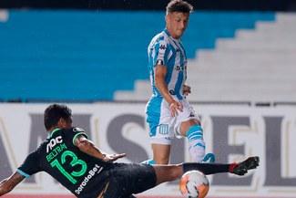 Alianza Lima resistió un tiempo, pero terminó perdiendo 1-0 ante Racing Club en Copa Libertadores