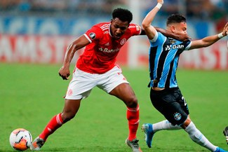 Internacional empató 0-0 ante Gremio por Copa Libertadores