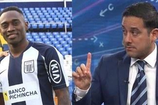 "Oscar Del Portal sobre Cristian Zúñiga: ""Ni marcó, ni hizo algo en ofensiva"""