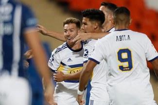 Boca venció 4-1 a Godoy Cruz y arrancó con el pie derecho la Copa de la Superliga
