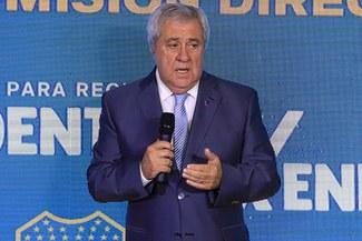 """Presidente de Boca Juniors: """"Trabajamos para cumplir el sueño de la gente"""""""