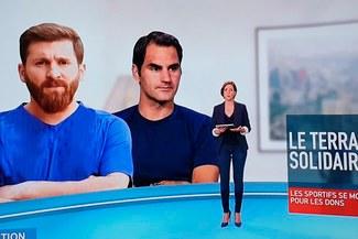 Insólito: TV de Francia y su terrible 'blooper' para anunciar donación de Lionel Messi
