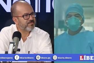 Ministro de Salud no contuvo las lágrimas tras homenaje a quienes luchan contra el coronavirus [VIDEO]
