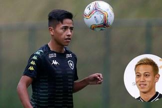 Alexander Lecaros y el consejo que recibió por parte del japonés Keisuke Honda en Botafogo
