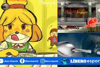 Virales: memes del 'perro comiendo cereal con cuchara' en videojuegos