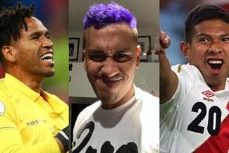 Gallese y el 'Orejas' trolean a Renato Tapia por pintarse el cabello de morado