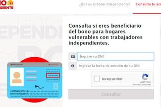 Bono Independiente: ¿Cómo saber si accedo al subsidio otorgado por el Gobierno?