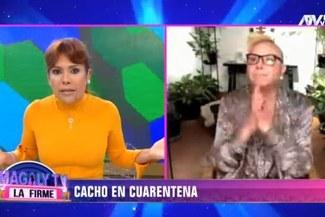 Programa de Magaly Medina usó peculiar titular durante entrevista con Carlos Cacho [VIDEO]