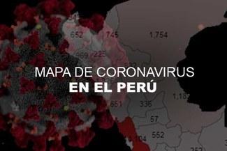 Mapa del coronavirus en el Perú [EN VIVO]: casos y muertes de HOY sábado 30 de mayo