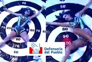 """Defensoría del Pueblo rechazó juego de Esto es guerra que """"normaliza la violencia contra mujeres"""""""
