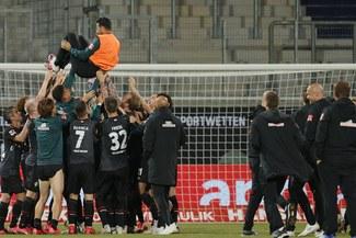 Claudio Pizarro y su emoción tras el tanto agónico del Werder Bremen [VIDEO]