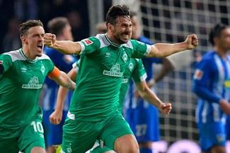 Claudio Pizarro: su primer y último gol con el Werder Bremen [VIDEO]