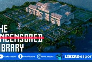 Minecraft: conoce la biblioteca insignia de la libertad de prensa