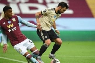 ¡Sigue imparable! Manchester United goleó 3-0 al Aston Villa por la Premier League