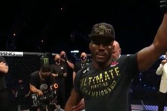 UFC 251: Kamaru Usman ganó a Jorge Masvidal en la pelea estelar